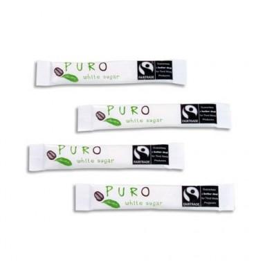PURO Boîte de 500 Buchettes de sucre blanc 5g