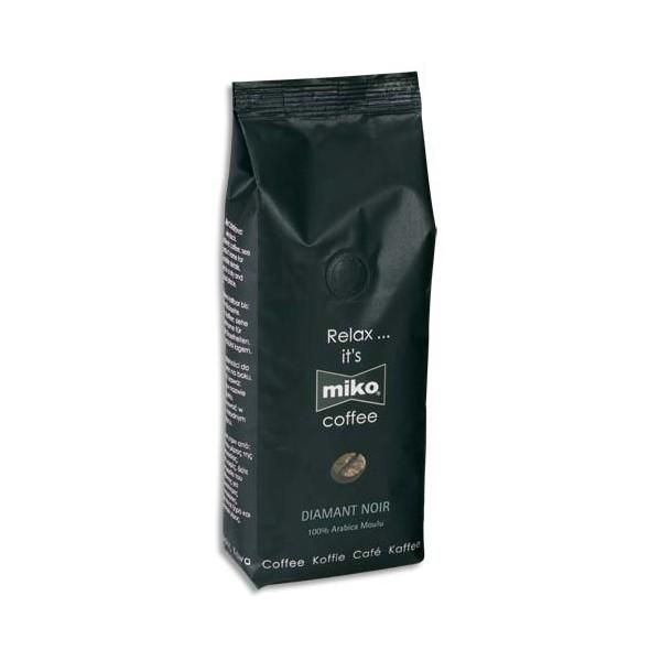 MIKO CAFE Paquet de 1kg de café moulu Diamant 100% Arabica
