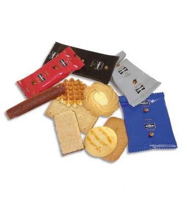 MIKO Boîte de 125 biscuits Furio emballé individuellement, environ 815 g