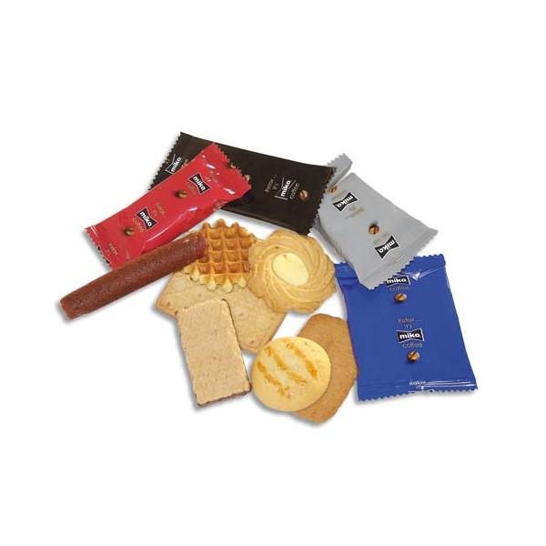 MIKO Boîte de 125 biscuits Furio emballé individuellement, environ 815 g (photo)