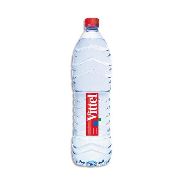 vittel pack de 12 bouteilles plastiques d 39 eau d 39 1 5 litre livraison en 24h. Black Bedroom Furniture Sets. Home Design Ideas