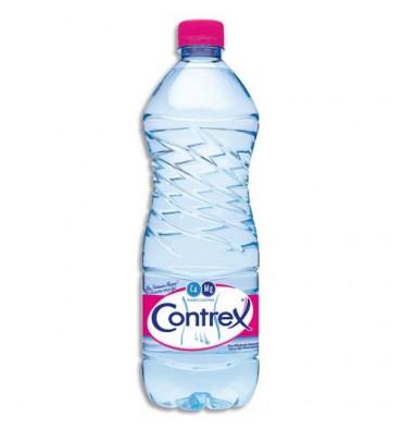 CONTREX Bouteille plastique d'eau de 1 litre