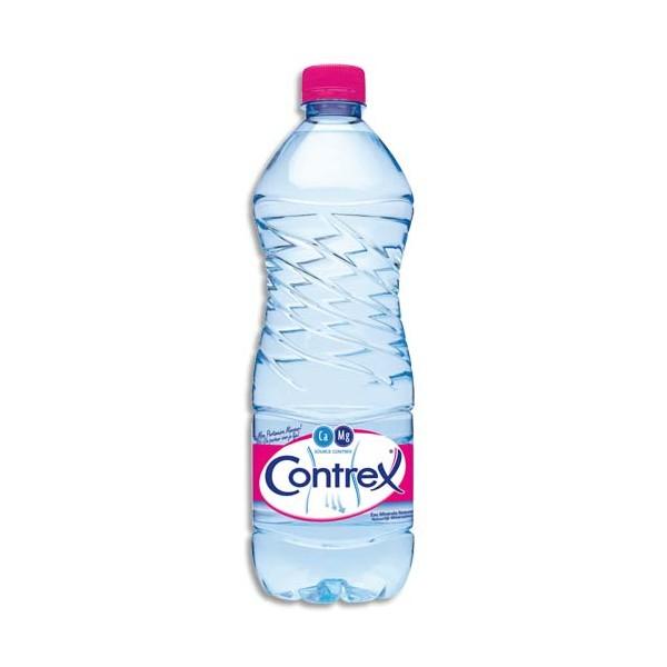 CONTREX Bouteille plastique d'eau de 1 litre (photo)