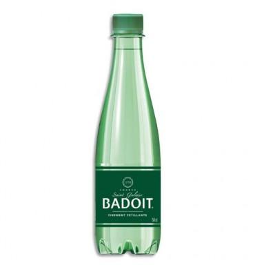 BADOIT Bouteille plastique d'eau pétillante de 50 cl