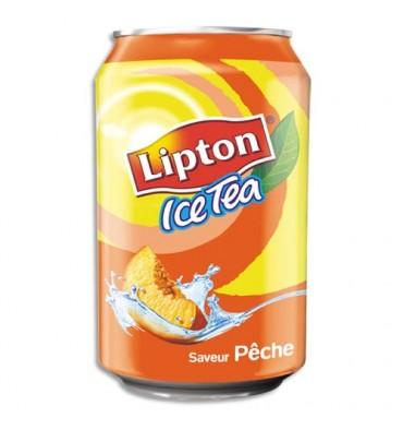 LIPTON ICE TEA pêche, canette de 33 cl