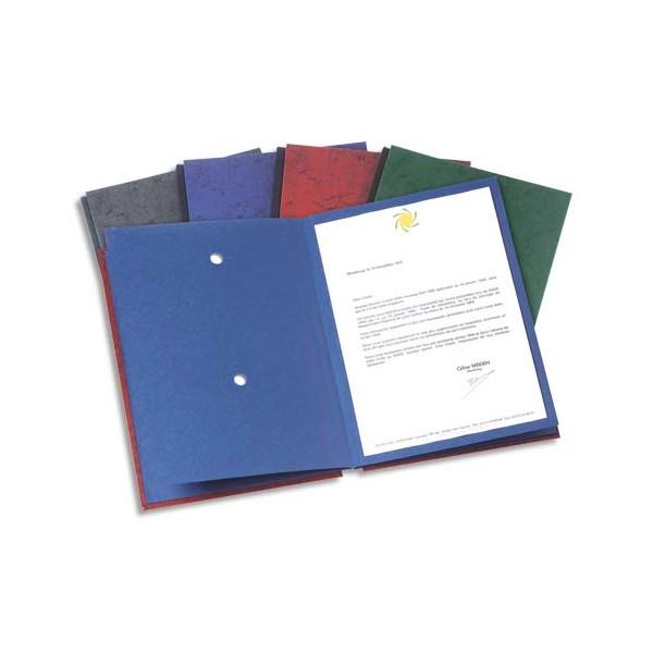 ELBA Parapheur Signature 24 compartiments anthracite, couverture pelliculée imprimée (photo)