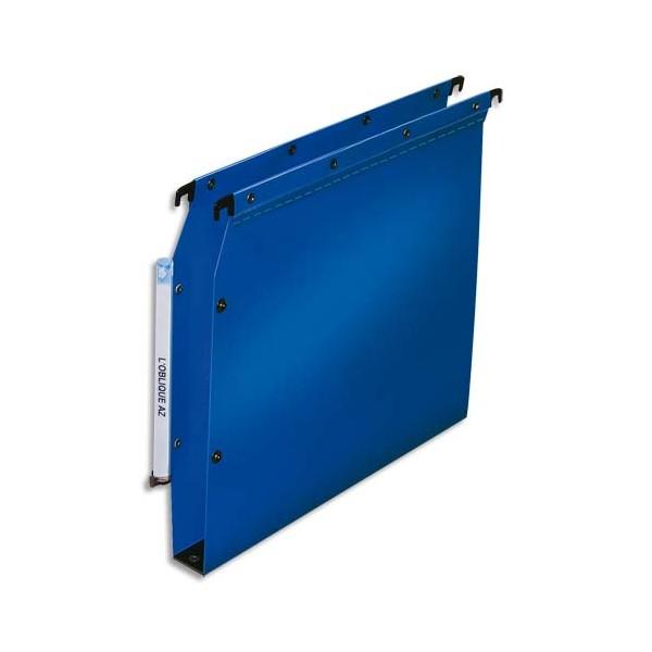 L'OBLIQUE AZ BY ELBA Paquet de 10 dossiers suspendus armoires en polypropylène opaque. Fo