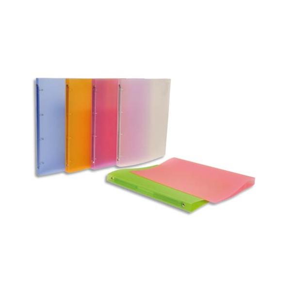 VIQUEL Classeur PROPYSOFT en polypropylène 5/10e personnalisable dos 2 cm coloris assorti