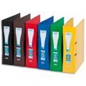 ELBA Classeur à levier papier pelliculé SCHOOL LIFE, format A4 maxi, dos 8 cm, coloris assortis