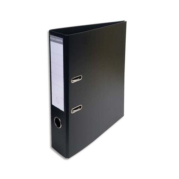 EXACOMPTA Classeur à levier PVC dos de 70 mm Noir