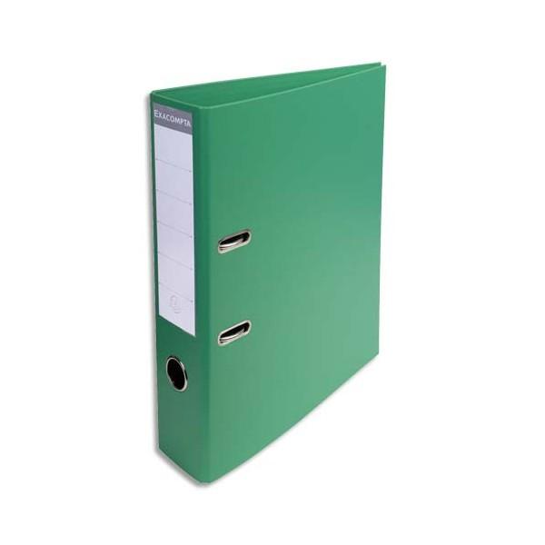 EXACOMPTA Classeur à levier PVC dos de 70 mm vert