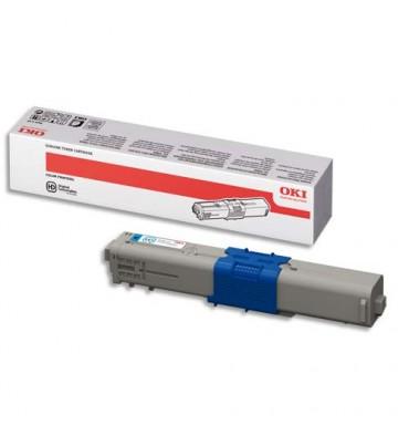 OKI Cartouche toner laser haute capacité cyan 44469724