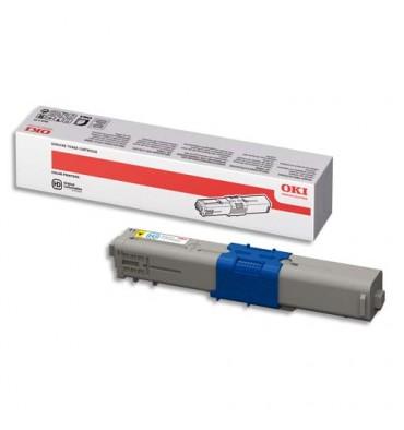 OKI Cartouche toner laser haute capacité jaune 44469722