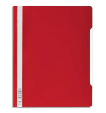 DURABLE Chemise de présentation à lamelles en PVC, coloris rouge