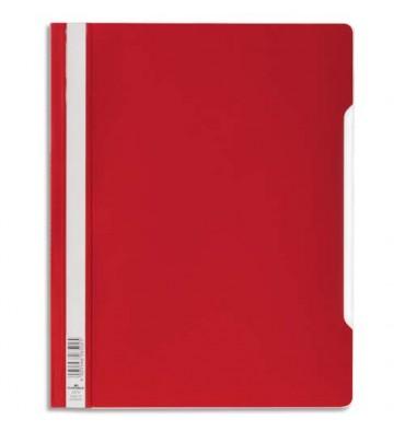 DURABLE Chemise de présentation à lamelles en PVC rouge