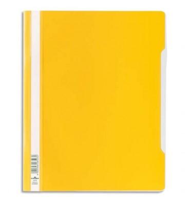 DURABLE Chemise de présentation à lamelles en PVC jaune