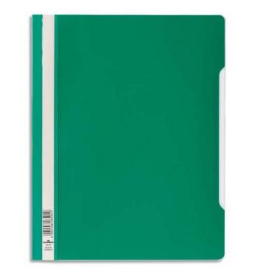 DURABLE Chemise de présentation à lamelles en PVC, coloris vert