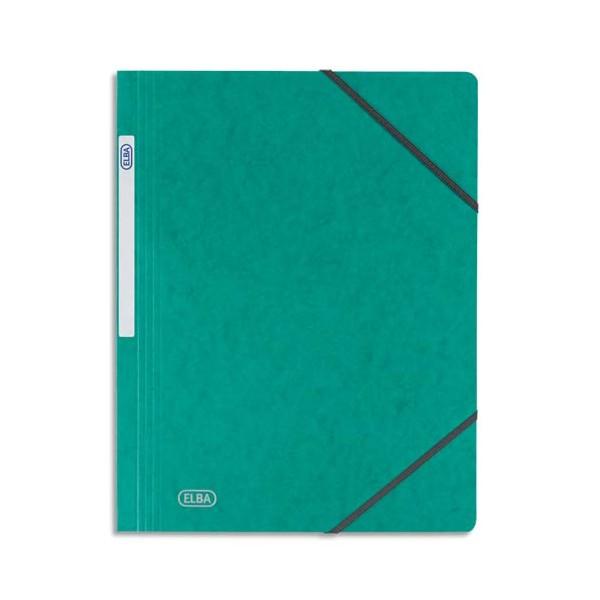 Elba chemise simple à élastique topfile en carte lustrée 510e vert. Nouveau 7192fd8e5167