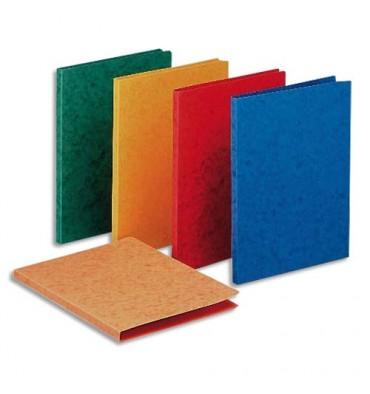 EXACOMPTA Chemise simple LUSTRO à dos rainé, en carte lustrée 5/10e, coloris assortis