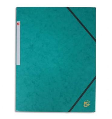 5 ETOILES Chemise 3 rabats et élastique en carte vert foncé