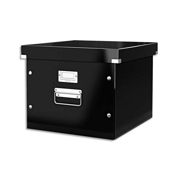 LEITZ Boîte Click & Store taille M pour dossiers suspendus à bouton pression noir