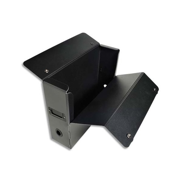 EXACOMPTA Boîte de classement EXABOX MAX en polypropylène recyclé dos de 10 cm noir
