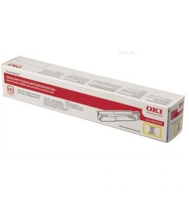 OKI Cartouche toner laser jaune 43459369