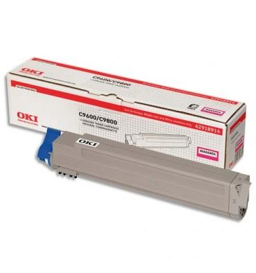 OKI Cartouche toner laser magenta 42918914