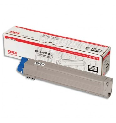OKI Cartouche toner laser noir 42918916