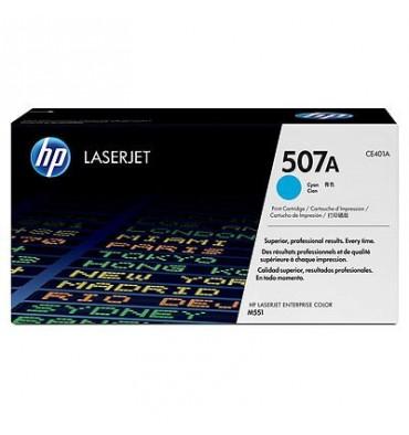 HP Cartouche toner laser cyan 507A - CE401A