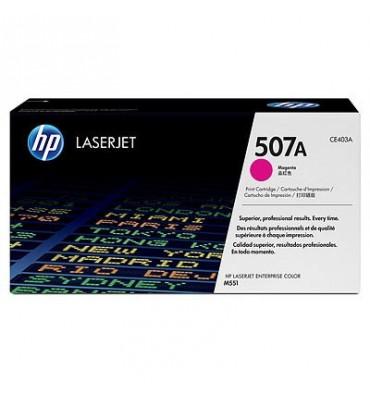HP Cartouche toner laser magenta 507A - CE403A