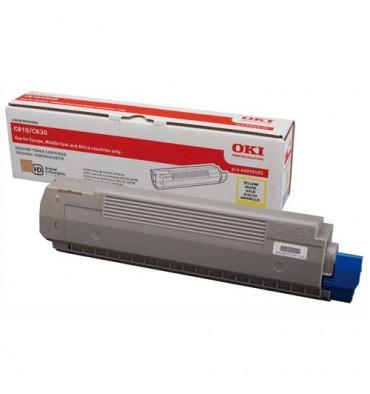 OKI Cartouche toner laser cyan 44059107