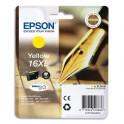 EPSON Cartouche jet d'encre jaune XL T1634