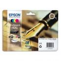 EPSON Multipack cartouches jet d'encre 4 couleurs T1636