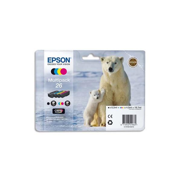 EPSON Multipack 4 couleurs Jet d'encre T2616