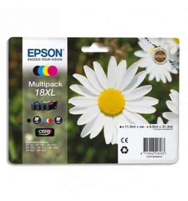 EPSON Multipack cartouches jet d'encre XL 4 couleurs T1816