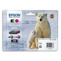 EPSON Multipack XL 4 couleurs Jet d'encre T263640