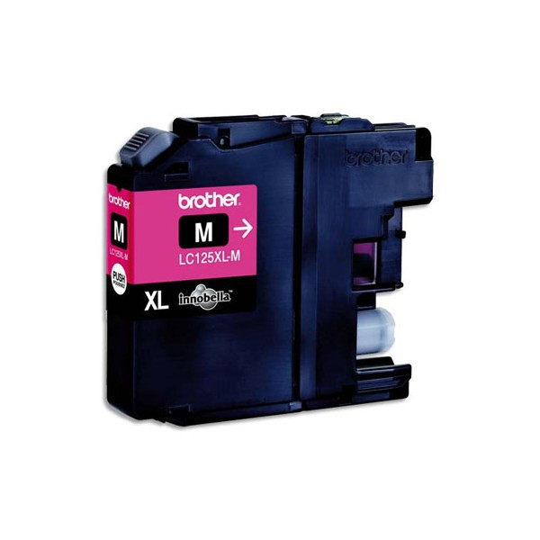 BROTHER Cartouche jet d'encre HC magenta LC125XLM
