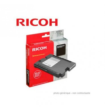 RICOH Cartouche gel multifonctions cyan GC21K - 405533