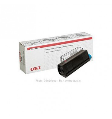 OKI Cartouche toner laser noir 43324408