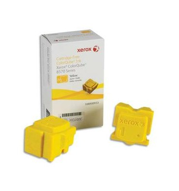 XEROX Pack 2 encres solides jaune 108R00933
