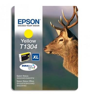 EPSON Cartouche jet d'encre jaune T1304