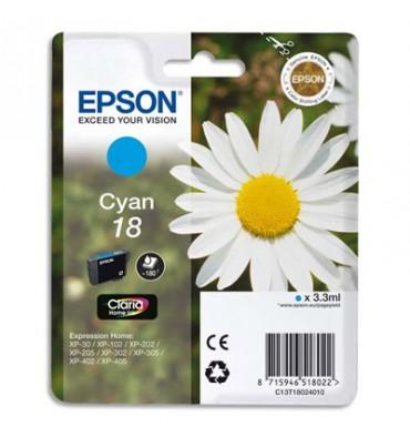EPSON Cartouche jet d'encre cyan T18024010