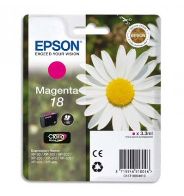 EPSON Cartouche jet d'encre magenta T1803