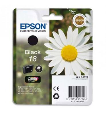 EPSON Cartouche jet d'encre noir T180140