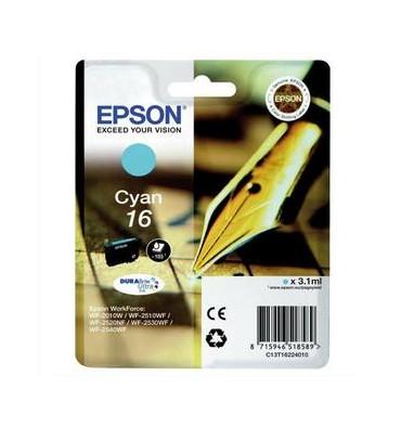 EPSON Cartouche jet d'encre cyan T1622