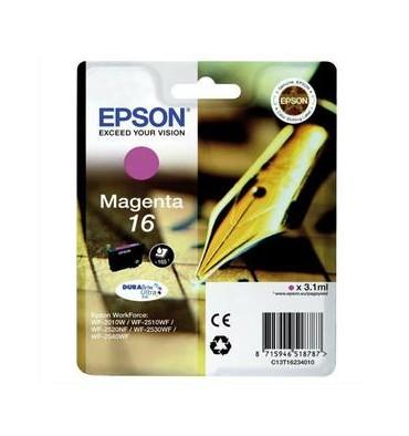 EPSON Cartouche jet d'encre magenta T162340