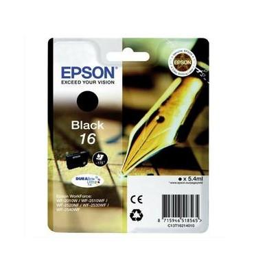 EPSON Cartouche jet d'encre noire T162140