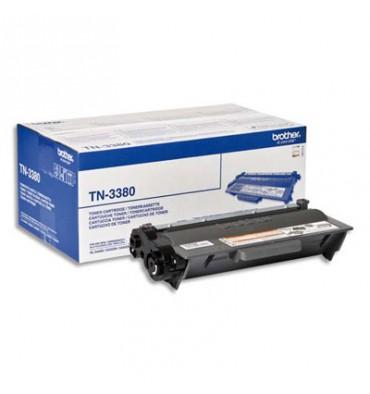 BROTHER Cartouche toner laser noir haute capacité TN-3380