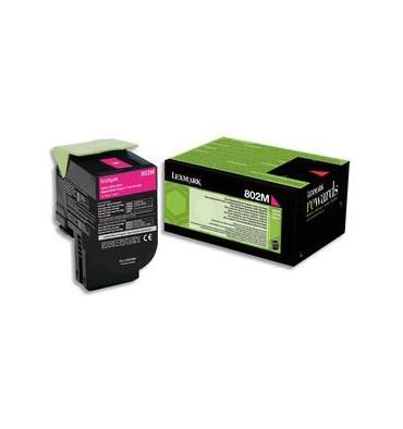 LEXMARK Cartouche toner laser magenta 80C20M0